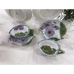 잎사귀 커피잔2set(커피잔2,받침2)