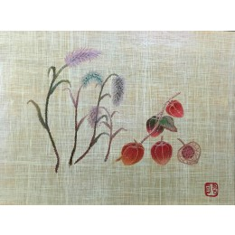 강아지풀과 열매
